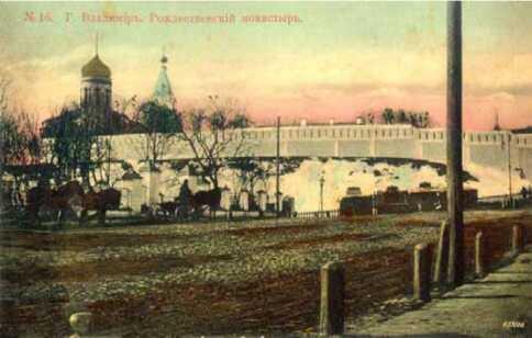 Рождественский монастырь Старый Владимир фото Владимирский кремль