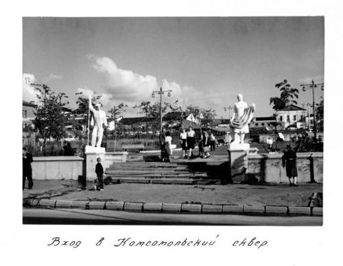 0 74bac 5b8ed3a5 L Комсомольский сквер во Владимире... Картинки на память