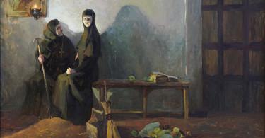 Соломония Сабурова в монашестве