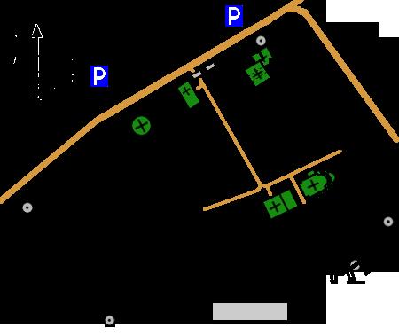 План-схема Владимирского кремля (Богородице-Рождественского монастыря)