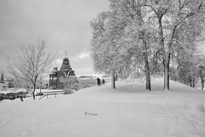 Козлов Вал во Владимире зимой