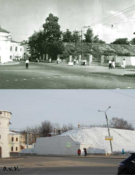 Козлов вал во Владимире  -вчера и сегодня
