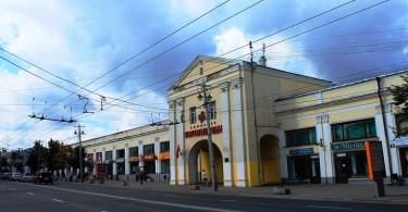 Торговые ряды во Владимире