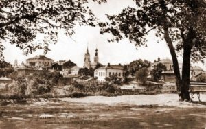 Вид на Георгиевскую улицу в начале 20 века
