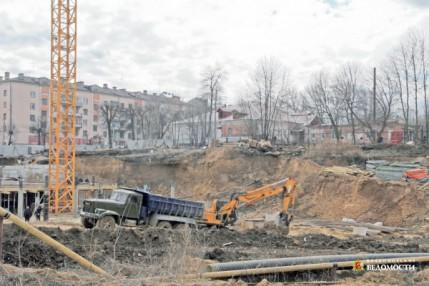 Зачатьевский вал во Владимире