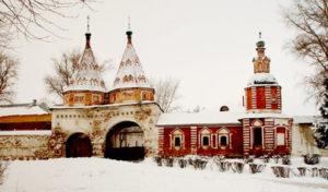 Суздальский Евфросиниев-Ризоположенский женский монастырь стены