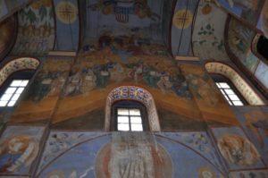 Свято-Боголюбский женский монастырь Вид внутри