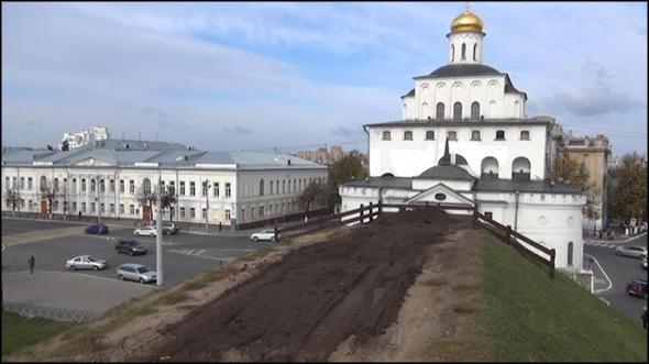 Козлов вал во Владимире - реконструкция 2014 года