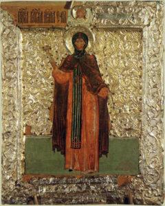 Соломония Сабурова икона