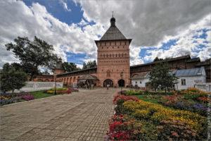 Въездная башня Спасо-Евфимиева монастыря